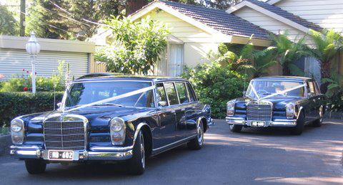 Heinz S Mercedes Benz 600 Grand Limousine Service Wedding Car Hire